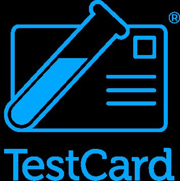 TestCard logo